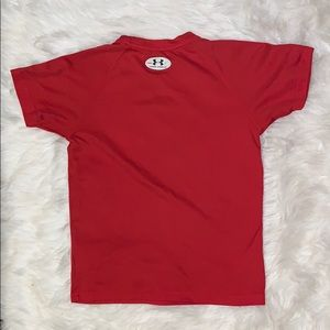 Under Armour Shirts & Tops - Under Armour YM Heat Gear Short Sleeve Shirt